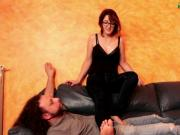 The Friend Of Ale First Part B - Sofa Foot Domination
