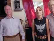 Presley Carter Pleasures Grandpas For Concert Ticket