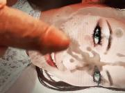 Kristina Uhrinova aka Melisa, Lexa cum tribute cam1
