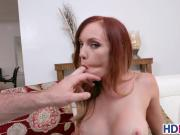 Redhead with braces gives blowjob