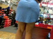 Phat ass in loose grey dress part 2