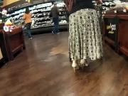 Latina milf long dress wide hipsPlaytime