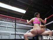 Mofos - Pervs On Patrol - Boxing Brunette Fucks in the Ring
