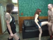Savage Ball Destruction FEMDOM BALLBUSTING HUMILIATION