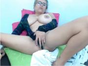 KL Tittie play and masturbation