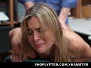 ShopLyfter - Blonde Troublemaker Fucked By Detective