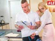 LETSDOEIT - Hot Tutor Is Hungry For Young Cock