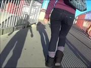 Walking ASS Parade II Leggings Spceial