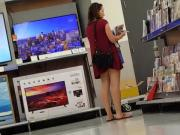 Wal-Mart Creep shot upskirt candid MILF