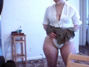 Mal Malloy Short Green Skirt