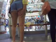 Blonde MILF Tourist Jiggly Ass