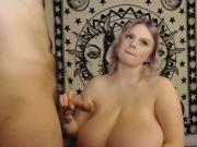 huge tits bbw love sucking dick