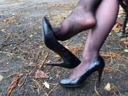 Feet in Nylon - Video 33