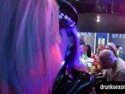 Bisexual bitches fuck at sex party