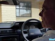 Teenage spa babe cocksucking oldman