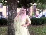 Hijabi slut posing for cock