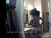 Ebony babe: Putting on pants compilation