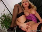 Hot Blonde Masturbation Solo