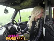 Female Fake Taxi Big tits blonde fucks her passenger