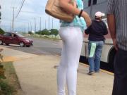 Culona leggins blancos