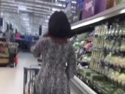 Sexy African Milf In Dress Jiggling Ass.. No Panties