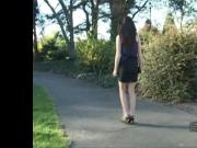 Watch Stiletto Girl babe clack swish in a pair of high heels