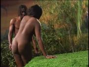 Catfight-Club Black Women Gets Backside Banged