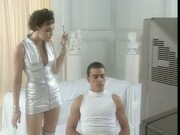 Kate Langbroek - Topless scene from 'Chances' Australian TV