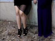 Tan Pantyhose