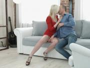 18 Videoz - Doris - Red dress for anal debut