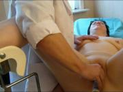 My doctor stimulates me on the gynecologycal table