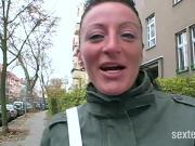 Streetcasting in Deutschland - Gina die Sau!