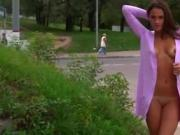 Public Nudity Silvia