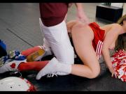 Cheerleader and Football Player get it on