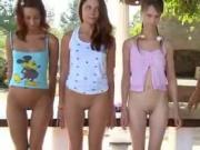 Four Girls Taught How To Masturbate