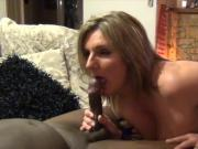 Mature blonde blowjob BBC