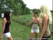 Bex, Debz & Charlotte play Strip Fight