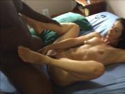 Ebony Fucks Latin MILF Brunette! Amateur pussyfucking