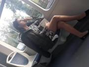 crossed legs on tram part 1