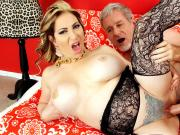 Experienced Tart Savannah Jane Fucked by a Fat Cock