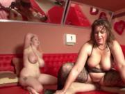 German milf swingers take cocks in foursome