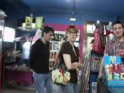 Marta La Croft gets fucked in the middle of a sex shop