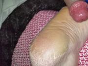 cum on her soles