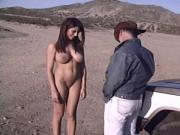 Latina Desert Sex