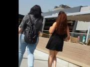 Sexy Ass Of Turkish Teen