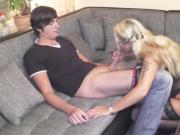 German 46yr old Mother seduce 18yr old Big Dick Boy to Fuck