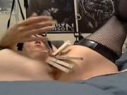 mrs kink in a bdsm session on webcam