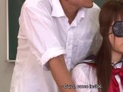 Asian school babe getting fucked and creamed by the fellas