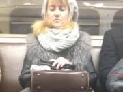 purse in lap