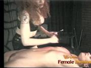 Two horny sluts have some naughty fun in the dungeon